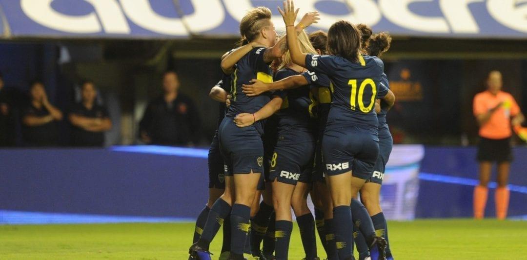 Histórico: el fútbol femenino es profesional