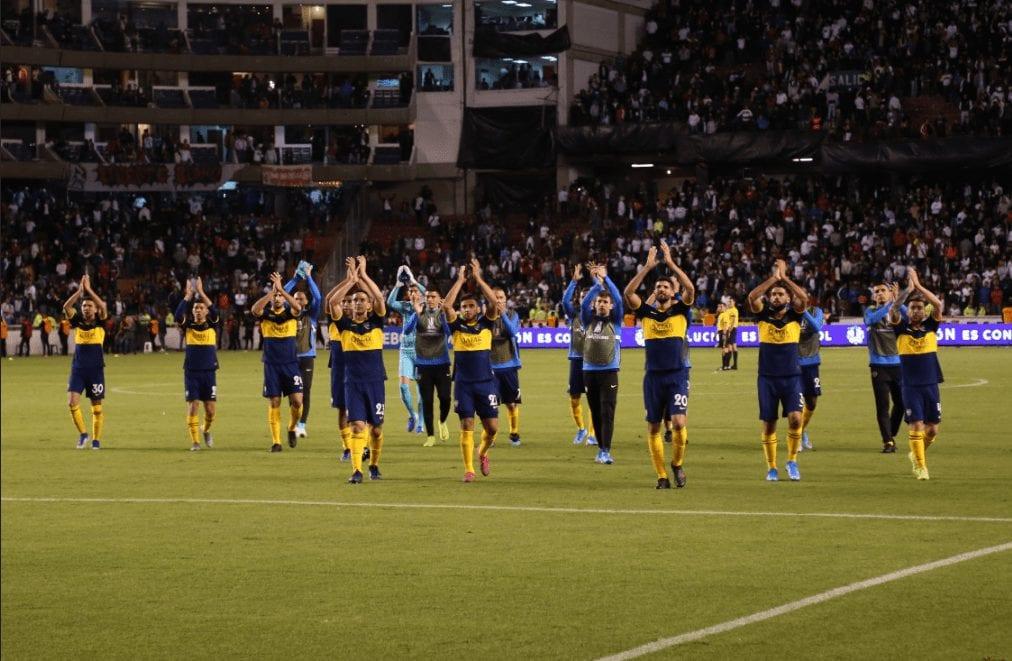 Boca bailó en la altura de Quito