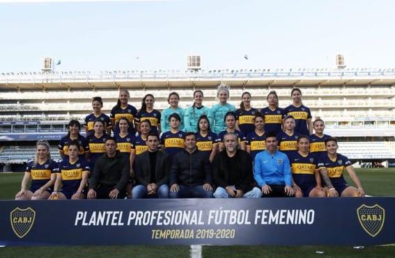 Debut oficial e histórico en La Bombonera