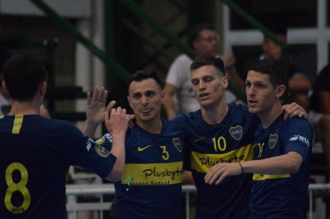 Boca clasificado a la Liga Nacional de Futsal
