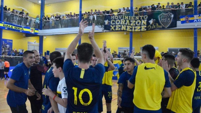 El regreso de Boca en el Futsal