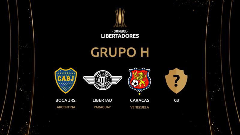 Definido el grupo de Copa Libertadores