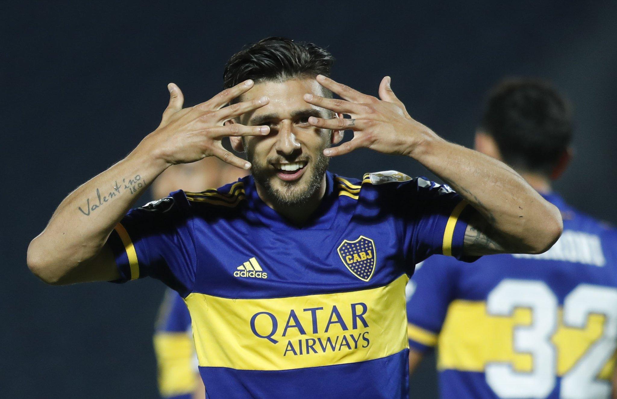 Con un doblete de Salvio, Boca pisó fuerte en Paraguay y venció a Libertad por 2-0