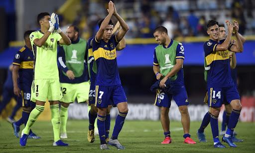 Concentrados de Boca para recibir al DIM por la Copa Libertadores