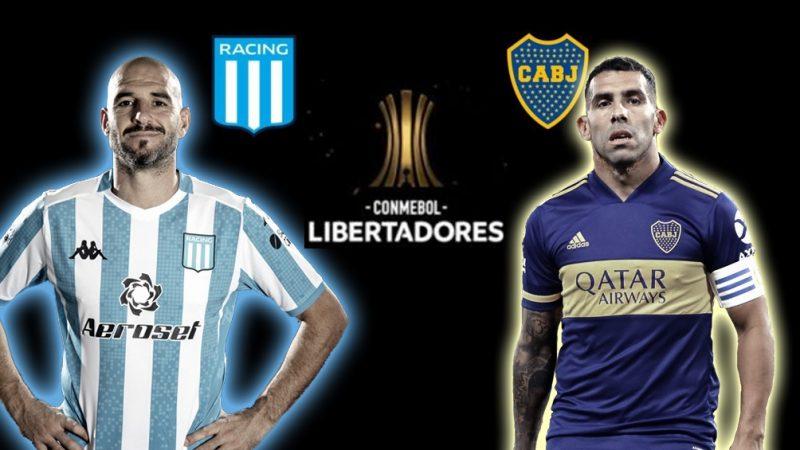 Boca quiere golpear primero ante Racing por la Copa Libertadores