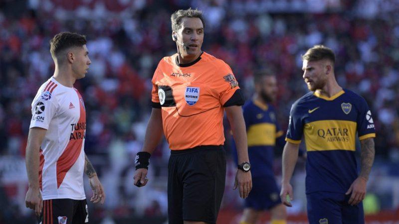 Fernando Rapallini será el árbitro del Superclásico entre Boca y River