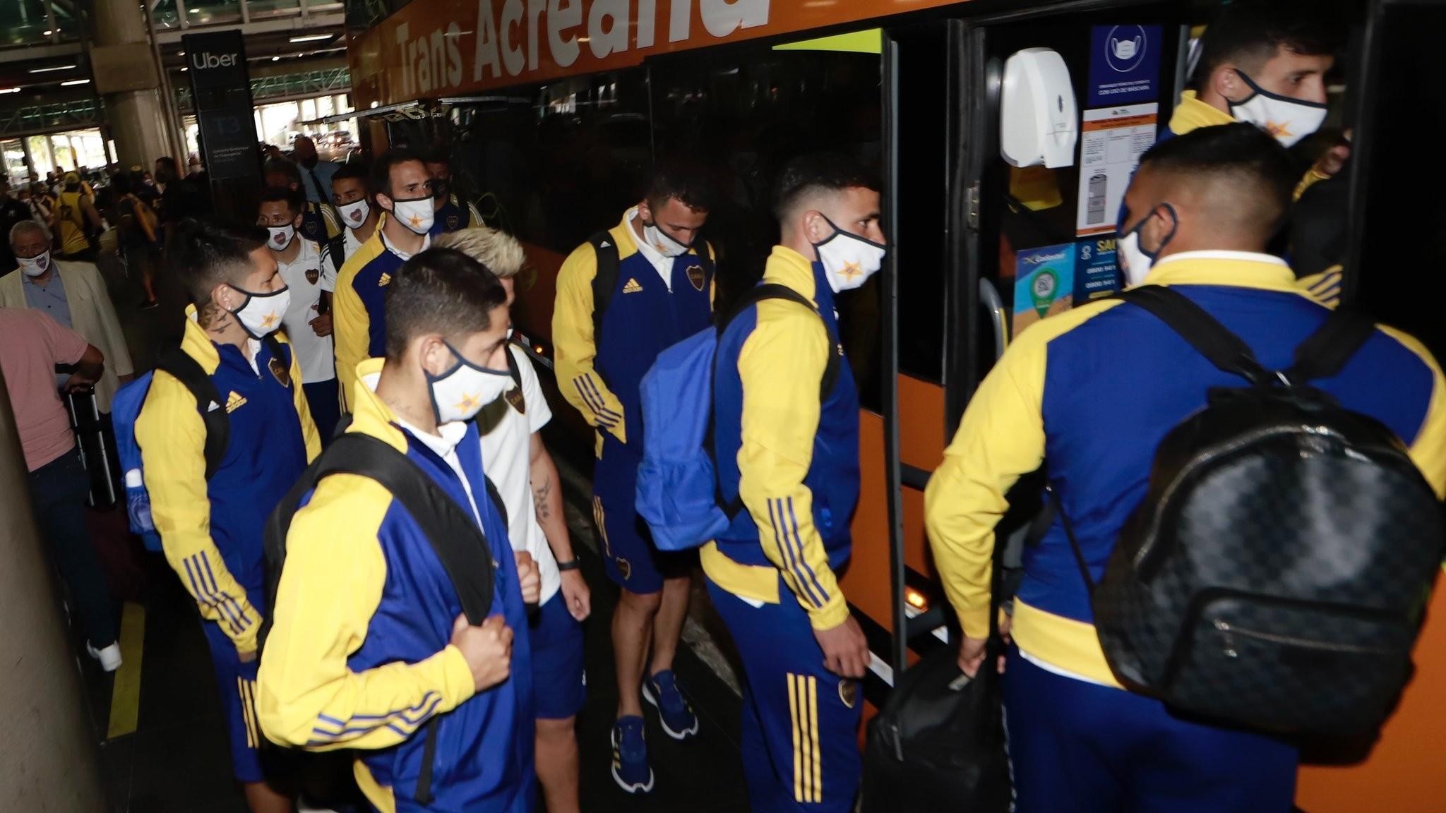 Santos – Boca: bombas de estruendos y la polémica declaración de Cuca en estos días